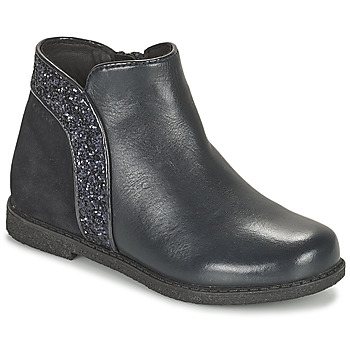 Sapatos Rapariga Botas baixas Geox SHAWNTEL Marinho