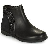Sapatos Rapariga Botas baixas Geox SHAWNTEL Preto