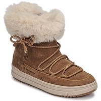Sapatos Rapariga Botas baixas Geox REBECCA WPF Camel