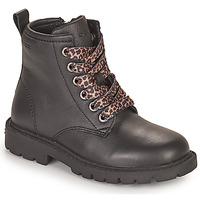 Sapatos Rapariga Botas baixas Geox SHAYLAX Preto