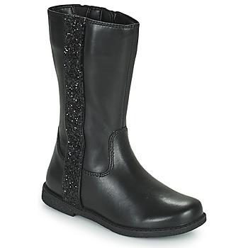 Sapatos Rapariga Botas Geox SHAWNTEL Preto