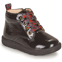 Sapatos Rapariga Botas baixas Geox HYNDE Preto