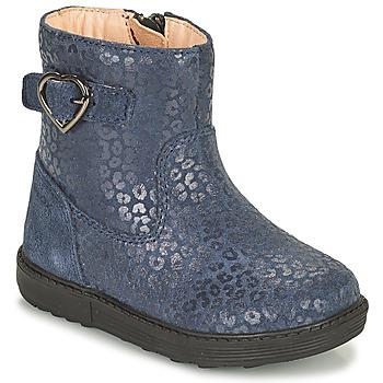 Sapatos Rapariga Botas Geox HYNDE Azul