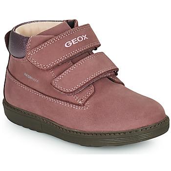 Sapatos Rapariga Botas baixas Geox HYNDE WPF Rosa