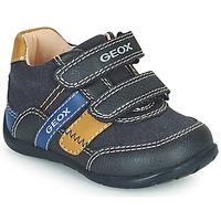 Sapatos Rapaz Sapatilhas Geox ELTHAN Marinho
