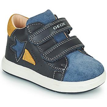 Sapatos Rapaz Sapatilhas Geox BIGLIA Marinho