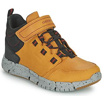 Sapatos Rapaz Botas baixas Geox FLEXYPER ABX Castanho