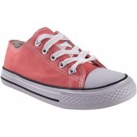 Sapatos Rapariga Multi-desportos Bienve Lona niña  abx063 salmon Rosa