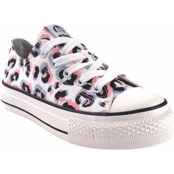 Sapatos Rapariga Multi-desportos MTNG Lona de menina MustANG KIDS 81195 bl.ros Rosa