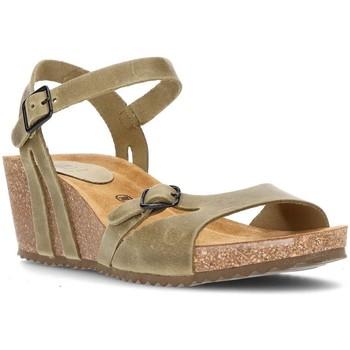 Sapatos Mulher Sandálias Interbios W Sandal mulher anatômica confortável CAQUI