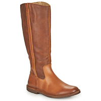 Sapatos Mulher Botas Kickers TINTTA Camel