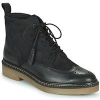 Sapatos Mulher Botas baixas Kickers OXANYHIGH Preto