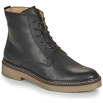 Sapatos Mulher Botas baixas Kickers OXIGENO Preto