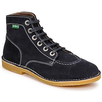Sapatos Mulher Botas baixas Kickers ORILEGEND Marinho