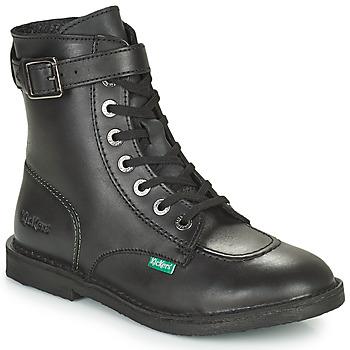 Sapatos Mulher Botas baixas Kickers KICK TREND Preto