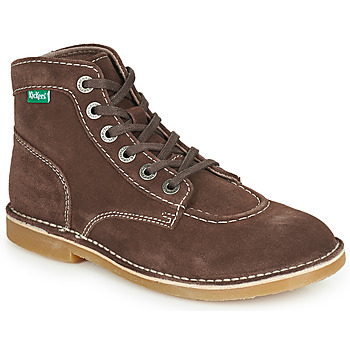 Sapatos Mulher Botas baixas Kickers ORILEGEND Castanho