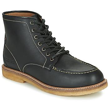 Sapatos Homem Botas baixas Kickers HORUZY Preto