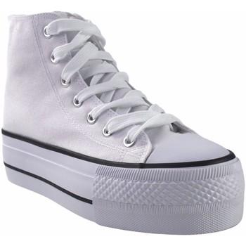 Sapatos Mulher Multi-desportos Bienve Lona senhora  abx012 branca Branco