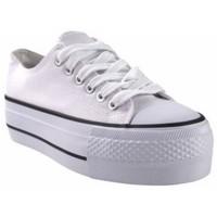 Sapatos Mulher Multi-desportos Bienve Lona señora  abx026 blanco Branco