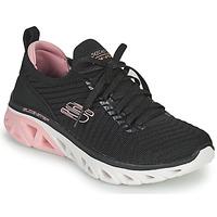 Sapatos Mulher Sapatilhas Skechers GLIDE-STEP SPORT Preto / Rosa