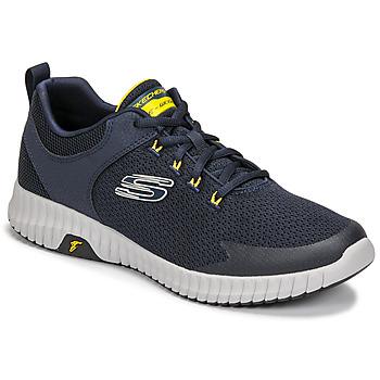 Sapatos Homem Sapatilhas Skechers ELITE FLEX PRIME Marinho / Amarelo
