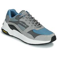 Sapatos Homem Sapatilhas Skechers GLOBAL JOGGER Cinza / Azul