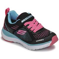 Sapatos Rapariga Sapatilhas Skechers ULTRA GROOVE Preto / Rosa / Azul