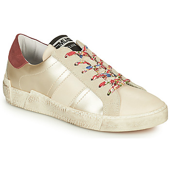 Sapatos Mulher Sapatilhas Meline NKC1381 Branco / Flor