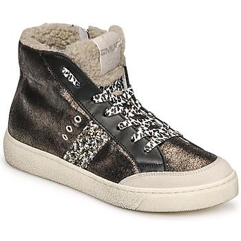 Sapatos Mulher Sapatilhas de cano-alto Meline CAR1425 Preto