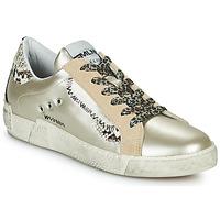 Sapatos Mulher Sapatilhas Meline NK139 Ouro