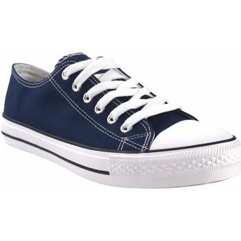 Sapatos Homem Multi-desportos Bienve Canvas cavalheiro  ca-1309 azul Azul