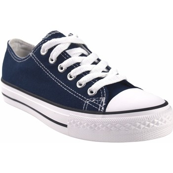 Sapatos Mulher Multi-desportos Bienve Canvas lady  ca01 blue Azul