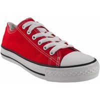 Sapatos Mulher Multi-desportos Bienve Canvas lady  ca01 vermelho Vermelho