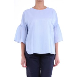 Textil Mulher Tops / Blusas Peserico S06378L102970 Celestial