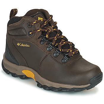 Sapatos Criança Sapatos de caminhada Columbia YOUTH  NEWTON RIDGE Castanho