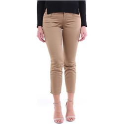 Textil Mulher Chinos Dondup DP405RS0986D Camelo