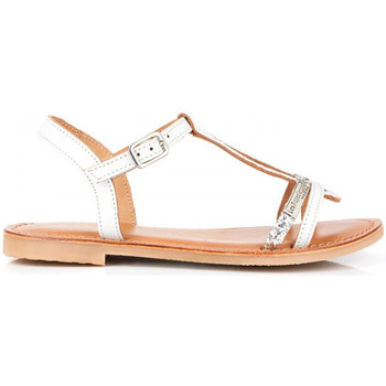 Sapatos Rapariga Sandálias Les Tropéziennes par M Belarbi Bada Branco