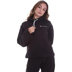 Textil Mulher Sweats Champion 113186 Preto