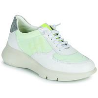 Sapatos Mulher Sapatilhas Hispanitas CUZCO Branco / Amarelo