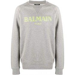 Textil Homem Sweats Balmain SH13279 Cinza