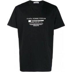 Textil Homem T-Shirt mangas curtas Givenchy BM70SC3002 Preto