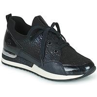 Sapatos Mulher Sapatilhas Remonte Dorndorf ANITAS Preto / Branco