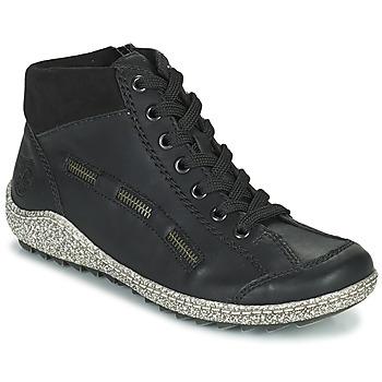 Sapatos Mulher Botas baixas Rieker GUERINA Marinho