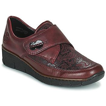 Sapatos Mulher Sapatos Rieker BOLLE Bordô