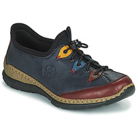 Sapatos Mulher Sapatos Rieker ENCORRA Azul / Vermelho / Amarelo
