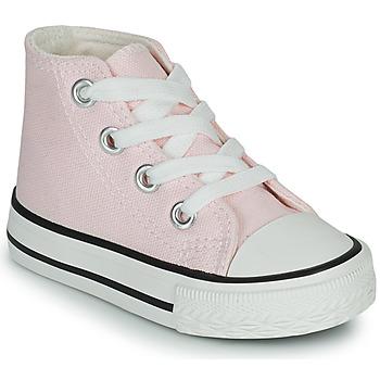 Sapatos Rapariga Sapatilhas de cano-alto Citrouille et Compagnie OFRIMOUSSE Lavanda