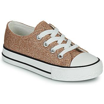 Sapatos Rapariga Sapatilhas Citrouille et Compagnie OVANA Ouro