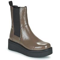 Sapatos Mulher Botas baixas Vagabond Shoemakers TARA Castanho / Claro