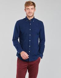 Textil Homem Camisas mangas comprida Polo Ralph Lauren TRENNYB Veludo / Azul