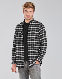 Textil Homem Camisas mangas comprida Polo Ralph Lauren PERINE Preto